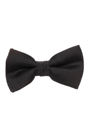Picture of Herringbone Black Bow