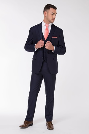 navy suit, suit, navy, blue